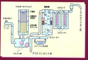 イオン水の生成