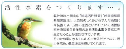 杜の泉 アクアメディカル AQ-2001  浄水