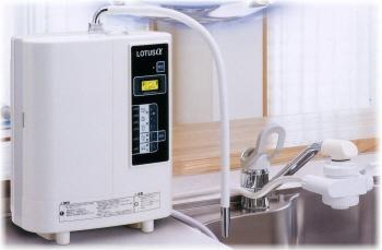還元水・強酸性連続生成器「LOTUSα ATX-503